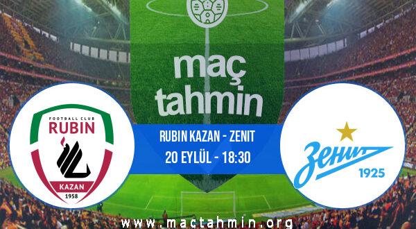 Rubin Kazan - Zenit İddaa Analizi ve Tahmini 20 Eylül 2021