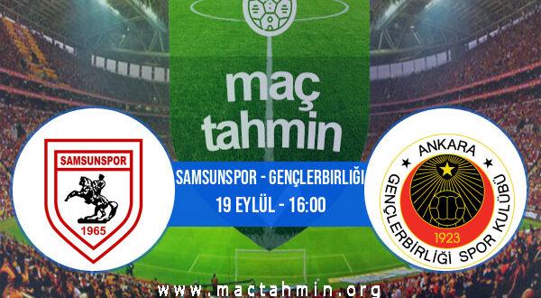 Samsunspor - Gençlerbirliği İddaa Analizi ve Tahmini 19 Eylül 2021