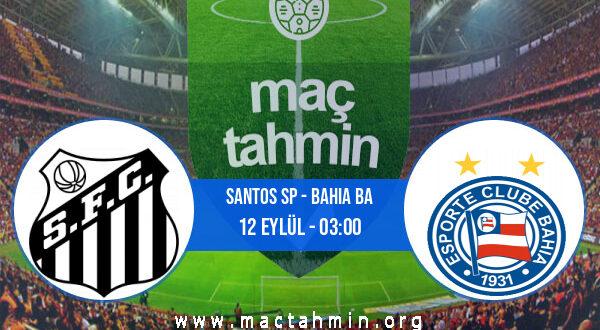 Santos SP - Bahia BA İddaa Analizi ve Tahmini 12 Eylül 2021