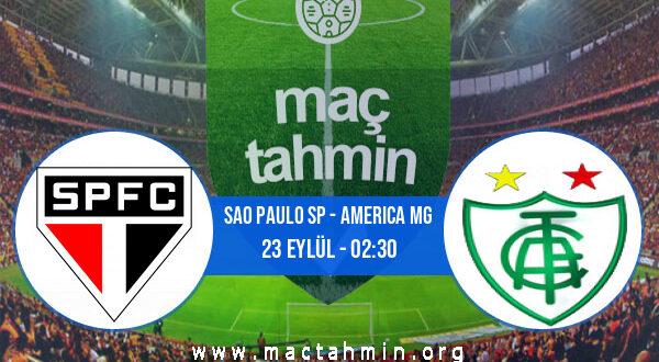 Sao Paulo SP - America MG İddaa Analizi ve Tahmini 23 Eylül 2021