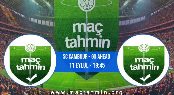 SC Cambuur - Go Ahead İddaa Analizi ve Tahmini 11 Eylül 2021