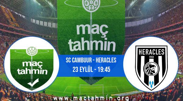 SC Cambuur - Heracles İddaa Analizi ve Tahmini 23 Eylül 2021