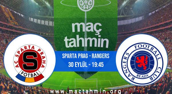Sparta Prag - Rangers İddaa Analizi ve Tahmini 30 Eylül 2021