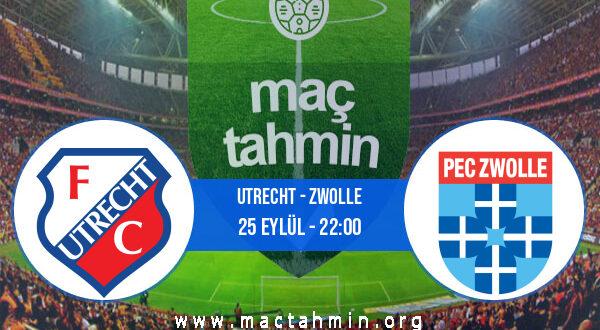 Utrecht - Zwolle İddaa Analizi ve Tahmini 25 Eylül 2021