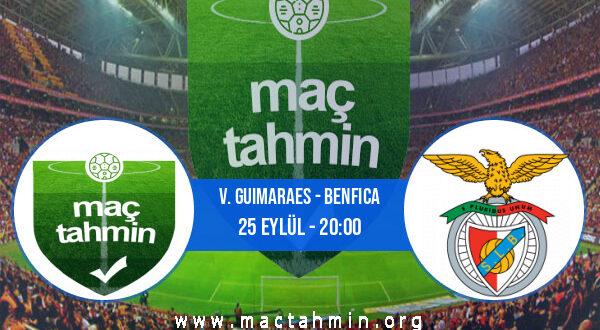 V. Guimaraes - Benfica İddaa Analizi ve Tahmini 25 Eylül 2021
