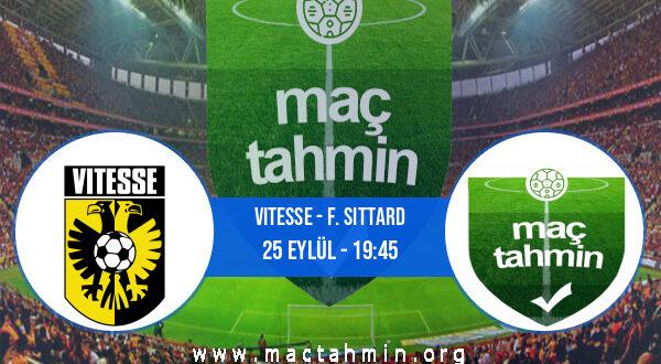 Vitesse - F. Sittard İddaa Analizi ve Tahmini 25 Eylül 2021