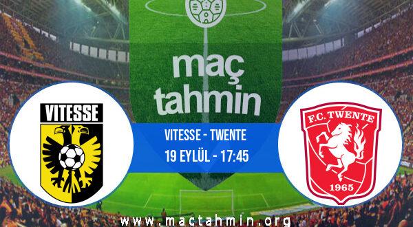 Vitesse - Twente İddaa Analizi ve Tahmini 19 Eylül 2021