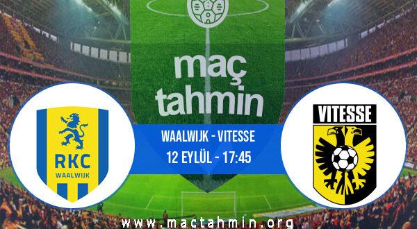 Waalwijk - Vitesse İddaa Analizi ve Tahmini 12 Eylül 2021