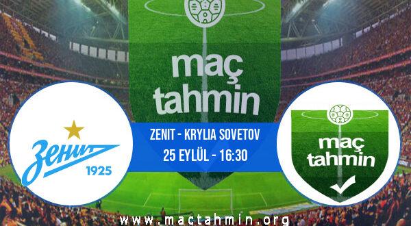 Zenit - Krylia Sovetov İddaa Analizi ve Tahmini 25 Eylül 2021
