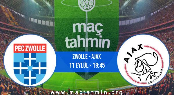 Zwolle - Ajax İddaa Analizi ve Tahmini 11 Eylül 2021