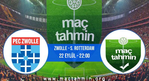 Zwolle - S. Rotterdam İddaa Analizi ve Tahmini 22 Eylül 2021