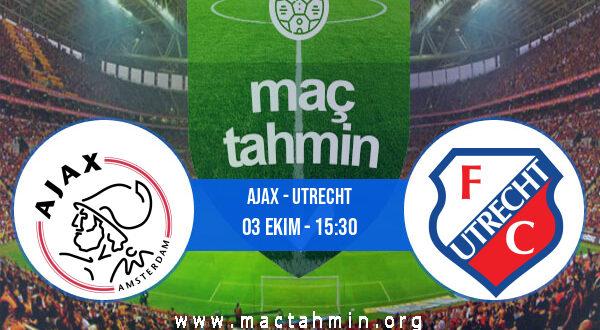 Ajax - Utrecht İddaa Analizi ve Tahmini 03 Ekim 2021