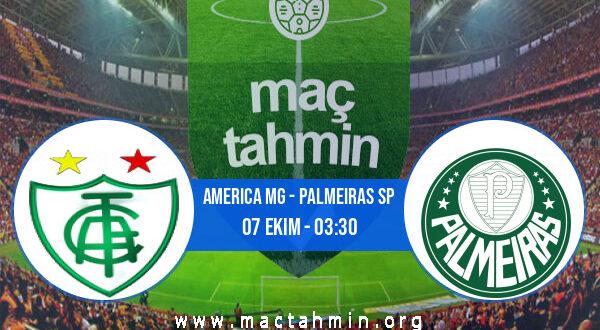 America MG - Palmeiras SP İddaa Analizi ve Tahmini 07 Ekim 2021