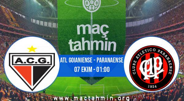 Atl Goianiense - Paranaense İddaa Analizi ve Tahmini 07 Ekim 2021