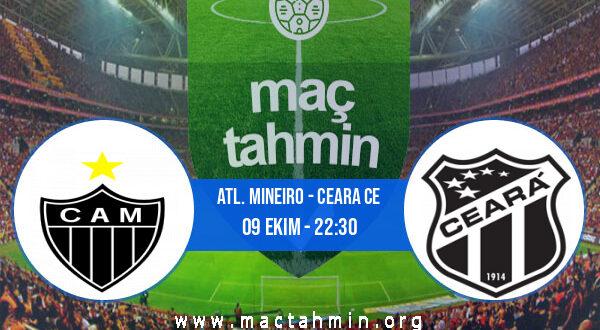 Atl. Mineiro - Ceara CE İddaa Analizi ve Tahmini 09 Ekim 2021