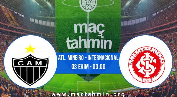 Atl. Mineiro - Internacional İddaa Analizi ve Tahmini 03 Ekim 2021