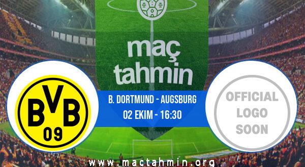 B. Dortmund - Augsburg İddaa Analizi ve Tahmini 02 Ekim 2021