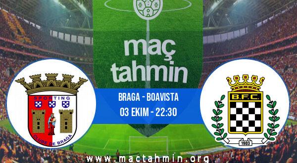 Braga - Boavista İddaa Analizi ve Tahmini 03 Ekim 2021