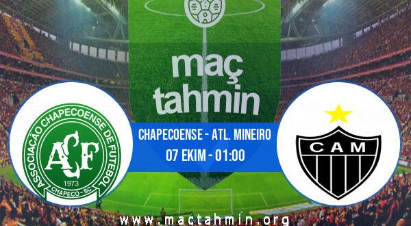 Chapecoense - Atl. Mineiro İddaa Analizi ve Tahmini 07 Ekim 2021