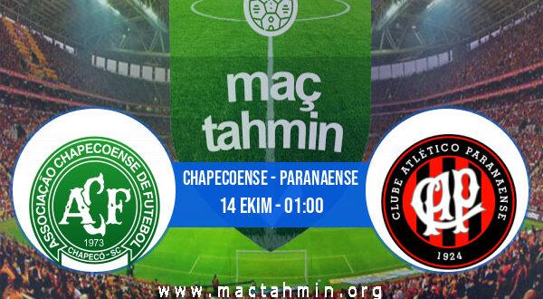 Chapecoense - Paranaense İddaa Analizi ve Tahmini 14 Ekim 2021
