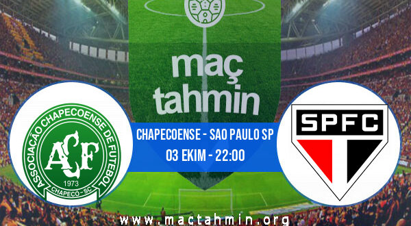 Chapecoense - Sao Paulo SP İddaa Analizi ve Tahmini 03 Ekim 2021