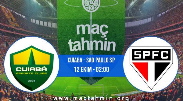 Cuiaba - Sao Paulo SP İddaa Analizi ve Tahmini 12 Ekim 2021
