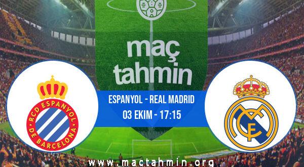 Espanyol - Real Madrid İddaa Analizi ve Tahmini 03 Ekim 2021