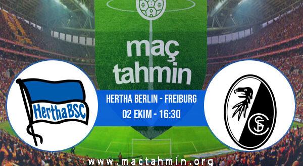 Hertha Berlin - Freiburg İddaa Analizi ve Tahmini 02 Ekim 2021