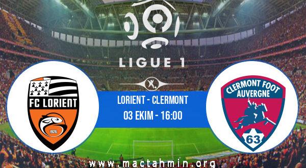 Lorient - Clermont İddaa Analizi ve Tahmini 03 Ekim 2021
