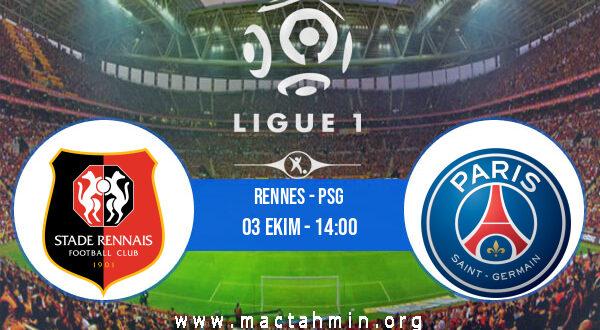 Rennes - PSG İddaa Analizi ve Tahmini 03 Ekim 2021