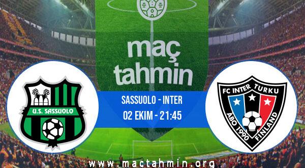 Sassuolo - Inter İddaa Analizi ve Tahmini 02 Ekim 2021