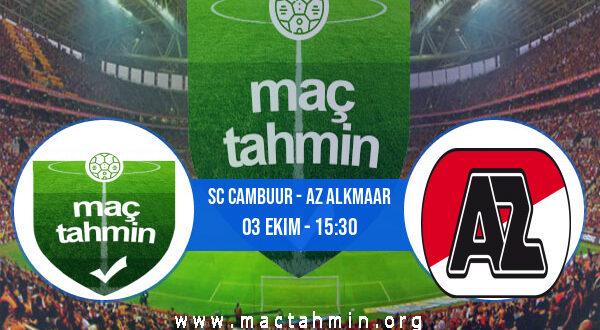 SC Cambuur - AZ Alkmaar İddaa Analizi ve Tahmini 03 Ekim 2021