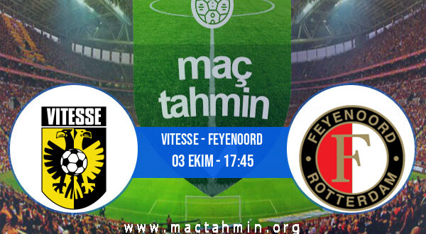 Vitesse - Feyenoord İddaa Analizi ve Tahmini 03 Ekim 2021