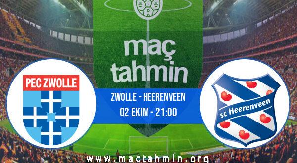Zwolle - Heerenveen İddaa Analizi ve Tahmini 02 Ekim 2021